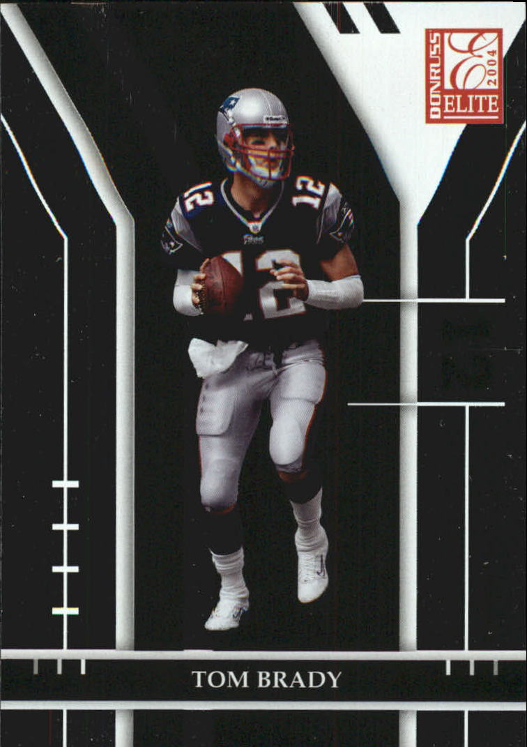 2004 Donruss Elite #58 Tom Brady