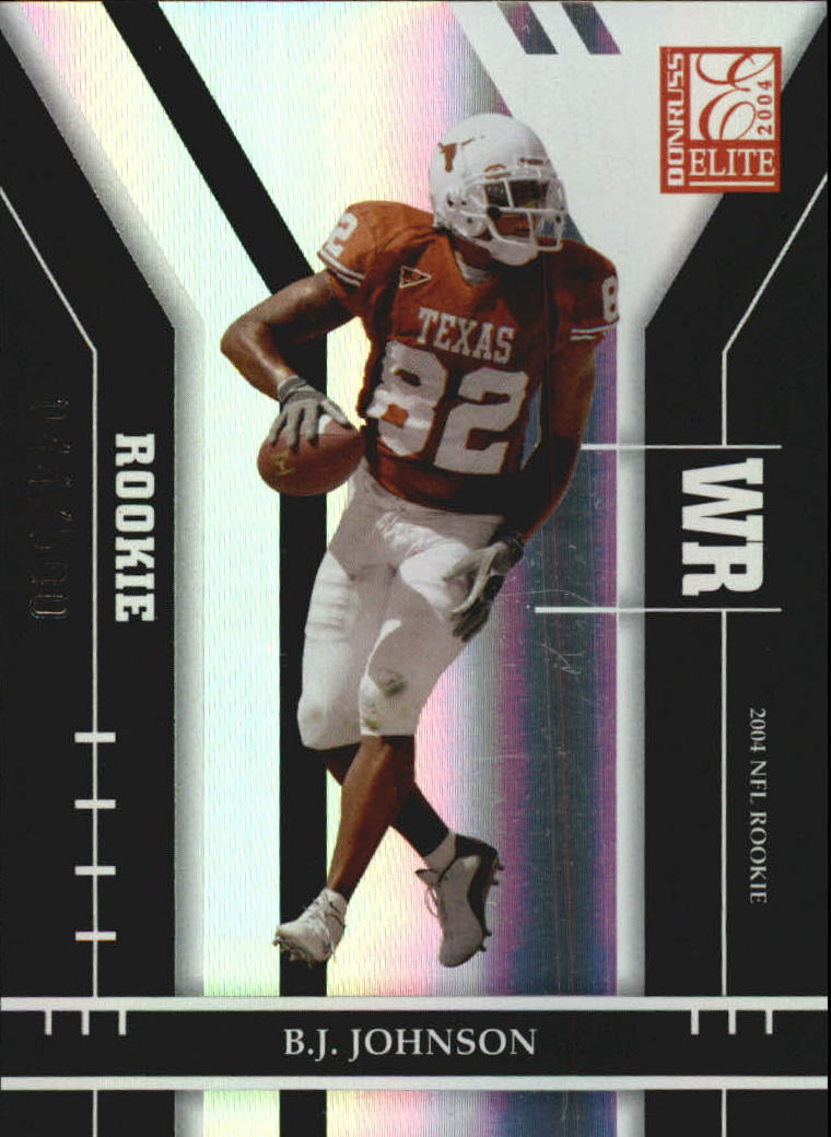 2004 Donruss Elite #104 B.J. Johnson RC
