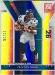 2004 Donruss Elite Status #29 Clinton Portis/26