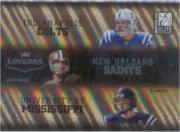 2004 Donruss Elite Lineage #L3 Archie Manning/Eli Manning/Peyton Manning