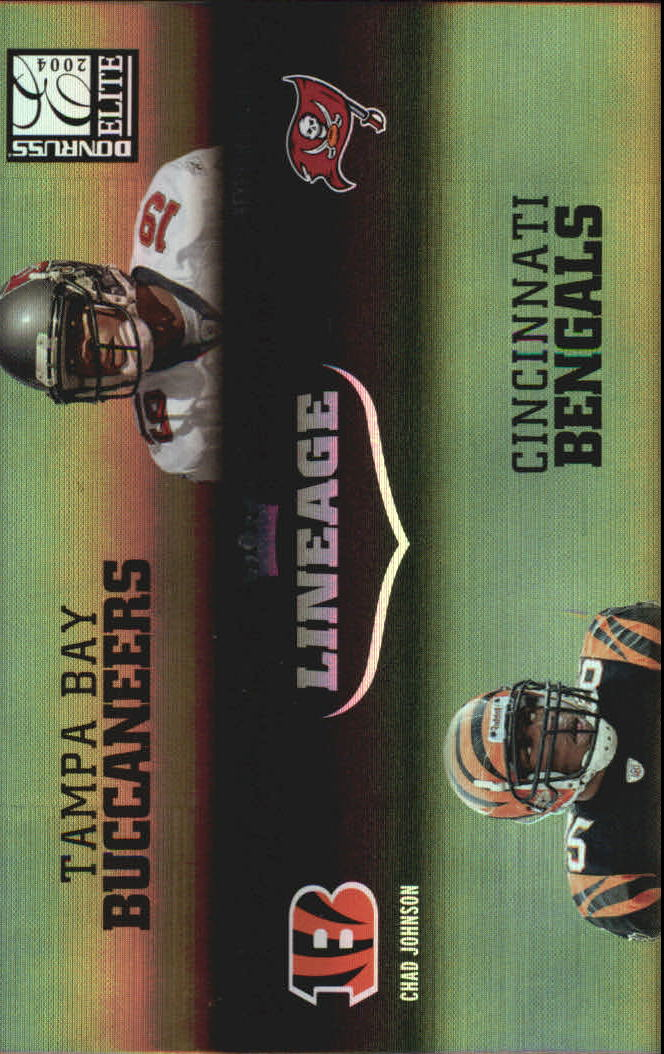 2004 Donruss Elite Lineage #L4 Chad Johnson/Keyshawn Johnson