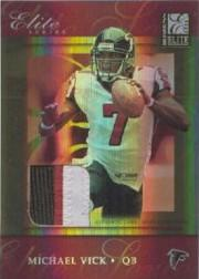 2004 Donruss Elite Series Jerseys Gold #ES19 Michael Vick