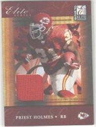 2004 Donruss Elite Series Jerseys Silver #ES22 Priest Holmes