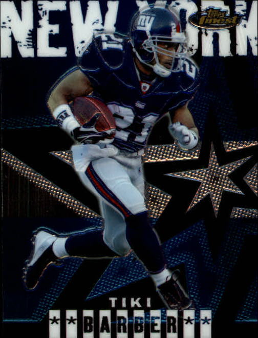 2004 Finest #29 Tiki Barber