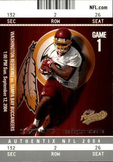 2004 Fleer Authentix #27 Clinton Portis