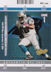 2004 Fleer Authentix #52 Stephen Davis