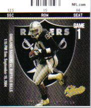 2004 Fleer Authentix #56 Jerry Rice