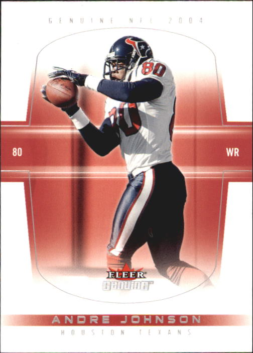 2004 Fleer Genuine #17 Andre Johnson