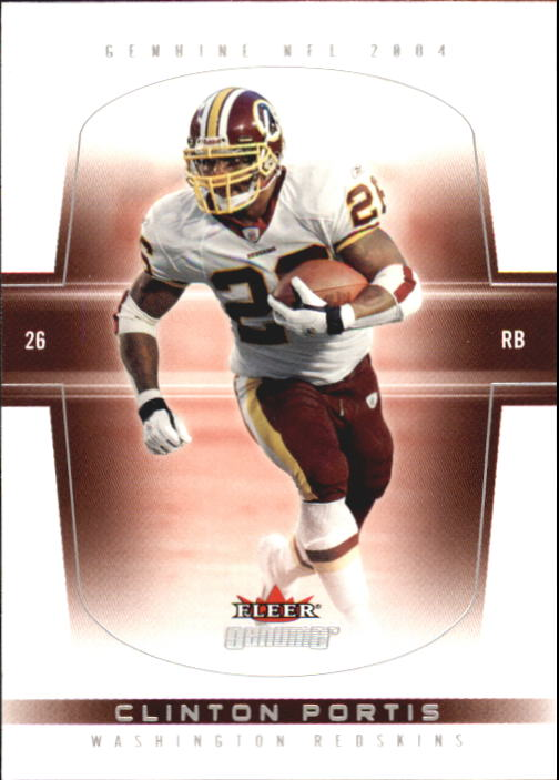 2004 Fleer Genuine #34 Clinton Portis