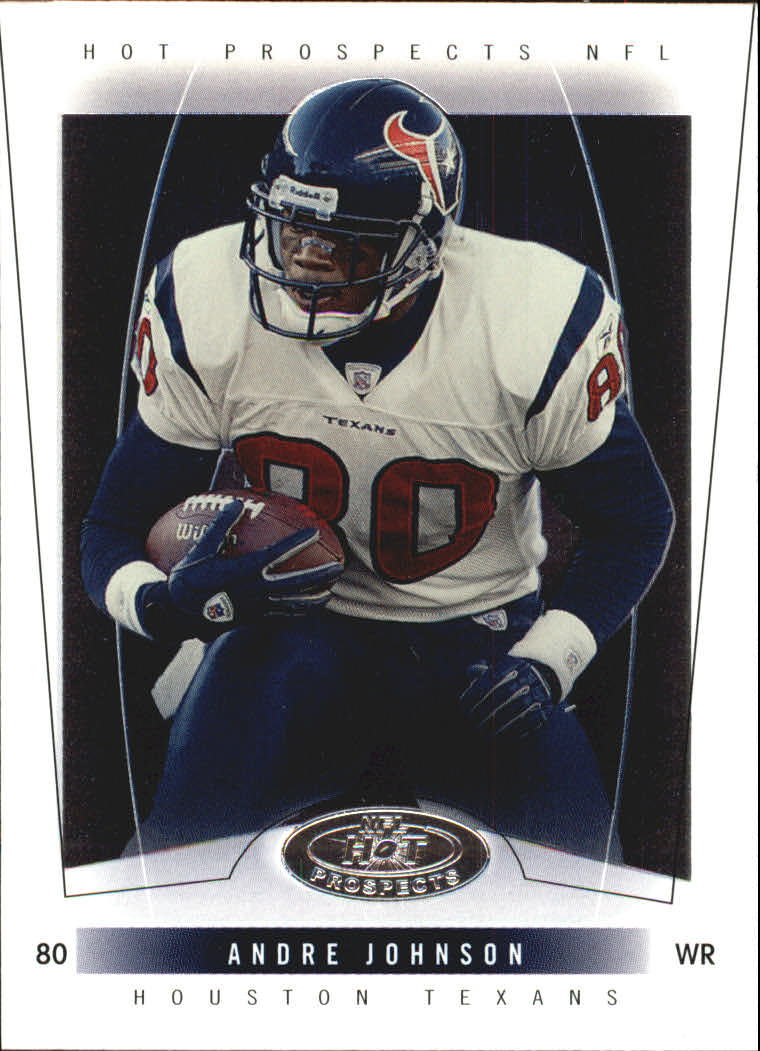 2004 Hot Prospects #9 Andre Johnson