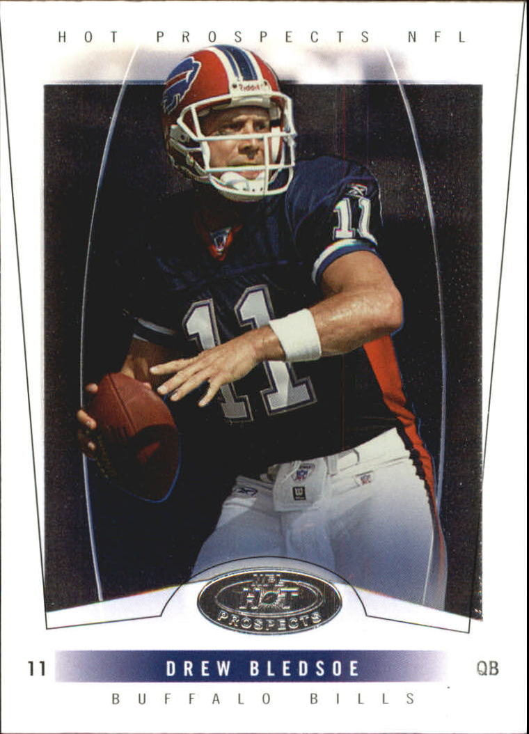 2004 Hot Prospects #45 Drew Bledsoe