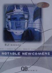 2004 Hot Prospects Notable Newcomers #1NN Eli Manning