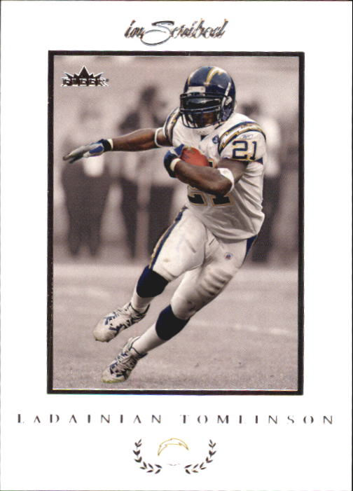 2004 Fleer Inscribed #11 LaDainian Tomlinson