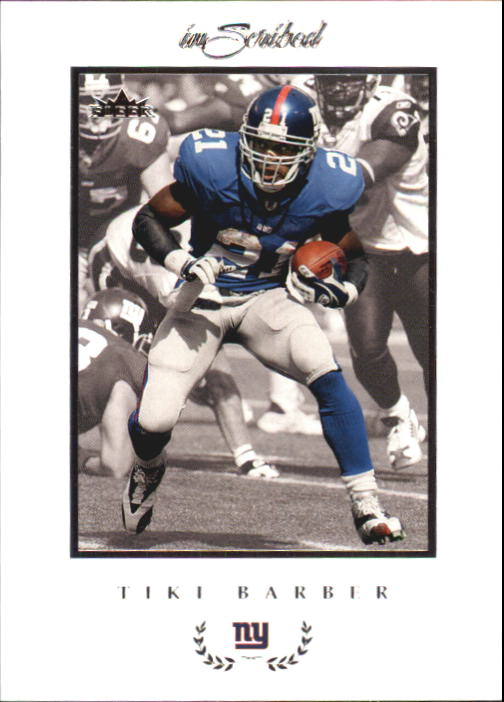 2004 Fleer Inscribed #34 Tiki Barber