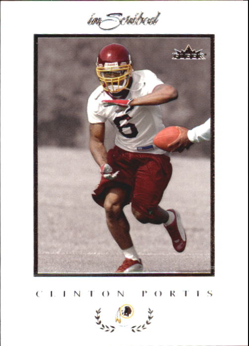 2004 Fleer Inscribed #42 Clinton Portis