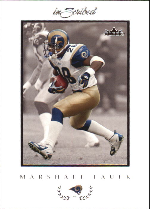 2004 Fleer Inscribed #47 Marshall Faulk