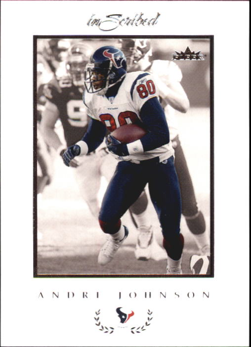 2004 Fleer Inscribed #73 Andre Johnson