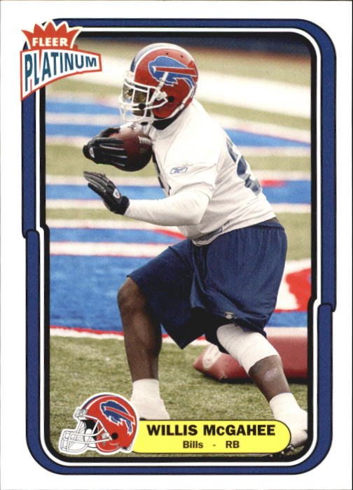 2004 Fleer Platinum #58 Willis McGahee