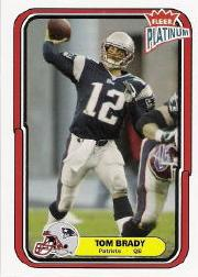 2004 Fleer Platinum #67 Tom Brady
