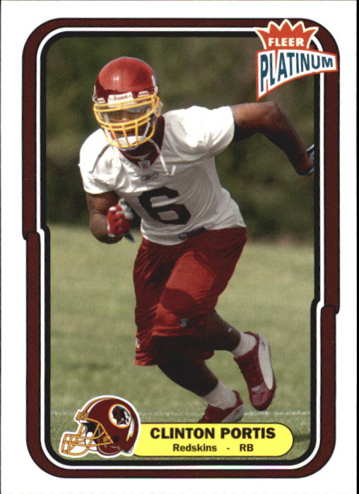 2004 Fleer Platinum #118 Clinton Portis