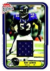 2004 Fleer Platinum Jerseys #76 Ray Lewis/765