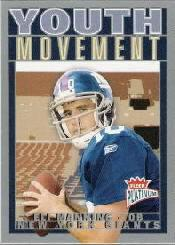 2004 Fleer Platinum Youth Movement #1YM Eli Manning