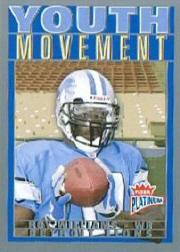 2004 Fleer Platinum Youth Movement #6YM Roy Williams WR