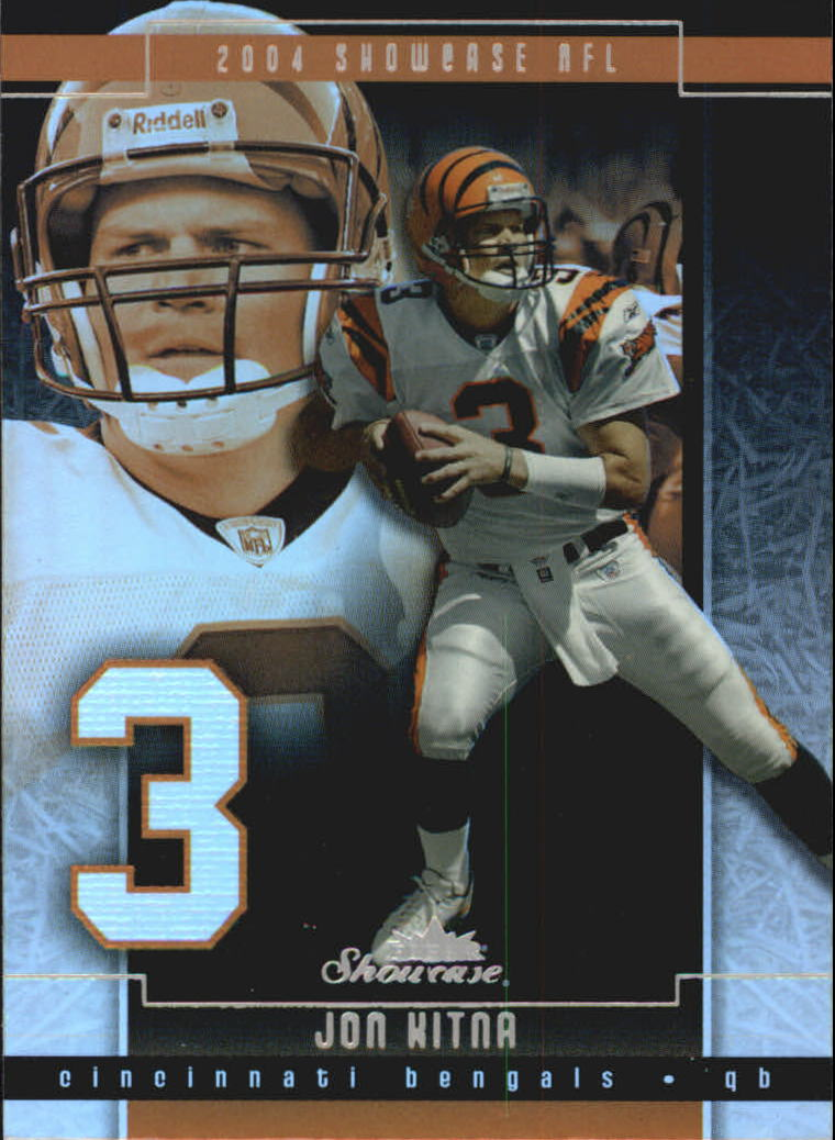 2004 Fleer Showcase #4 Jon Kitna