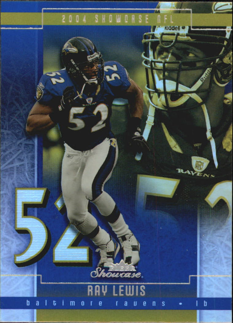 2004 Fleer Showcase #13 Ray Lewis