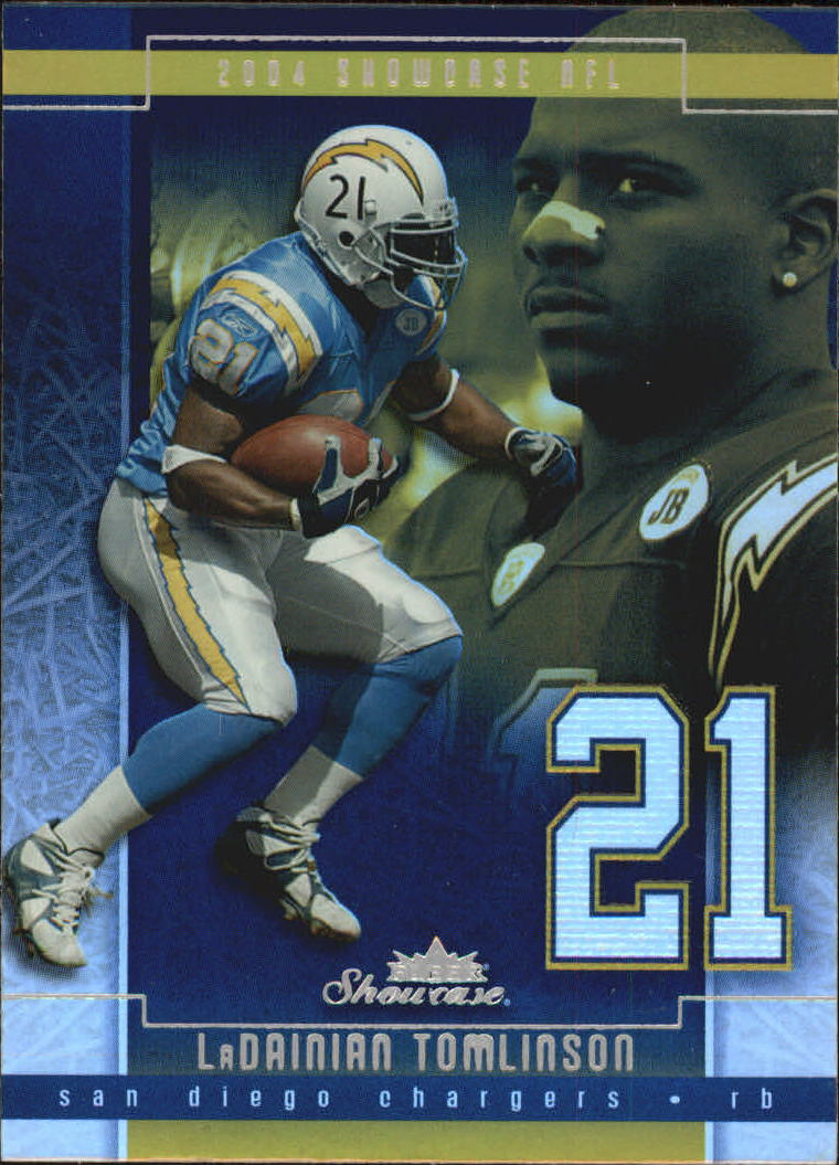 2004 Fleer Showcase #24 LaDainian Tomlinson