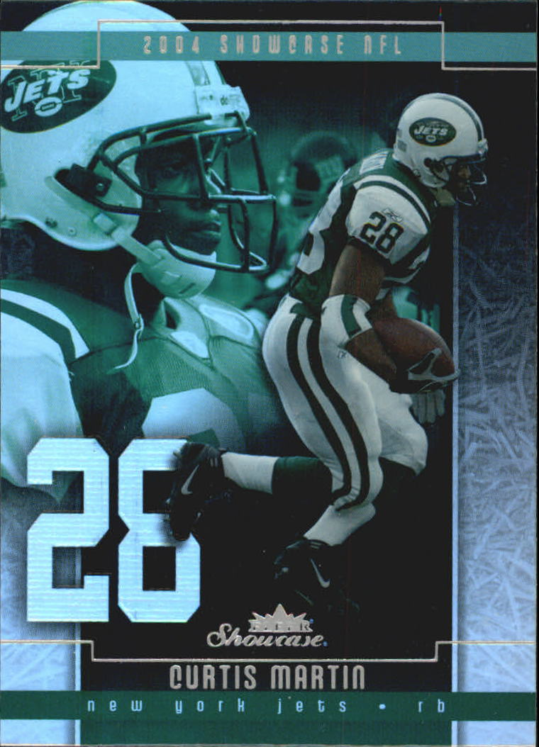 2004 Fleer Showcase #30 Curtis Martin