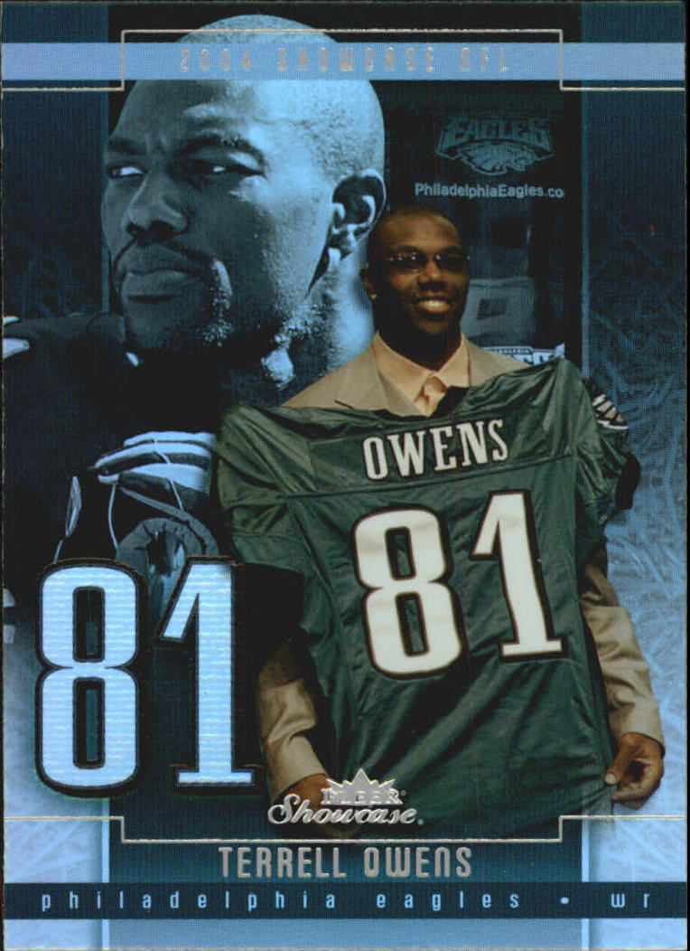 2004 Fleer Showcase #57 Terrell Owens