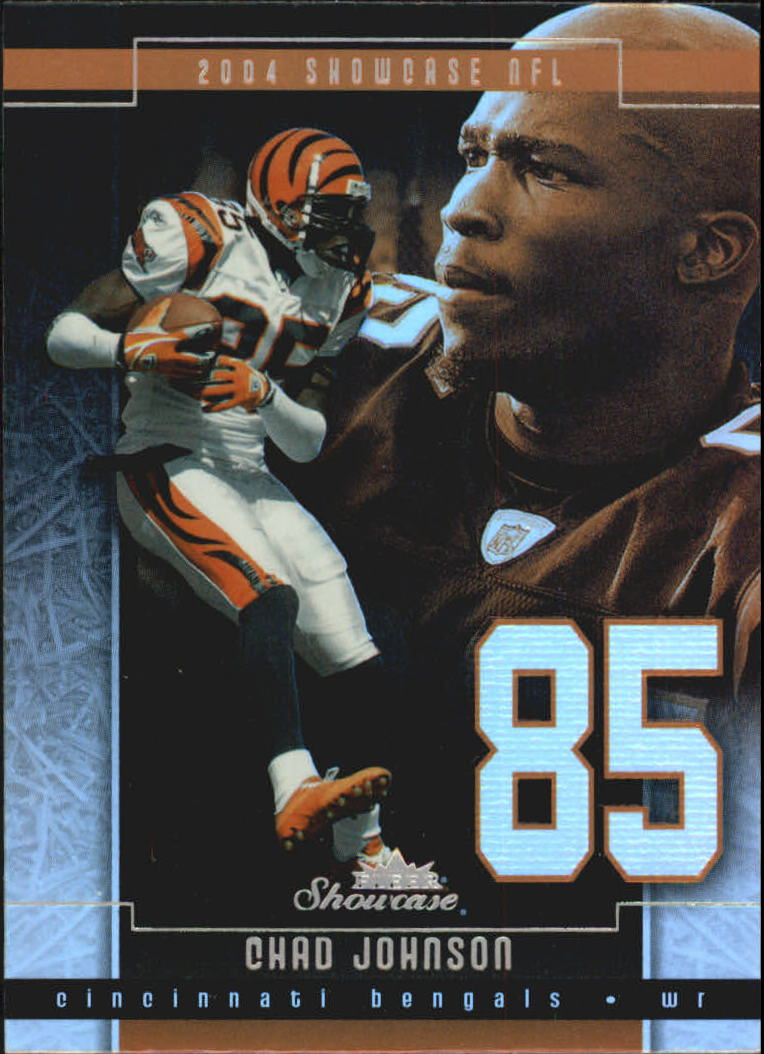 2004 Fleer Showcase #60 Chad Johnson