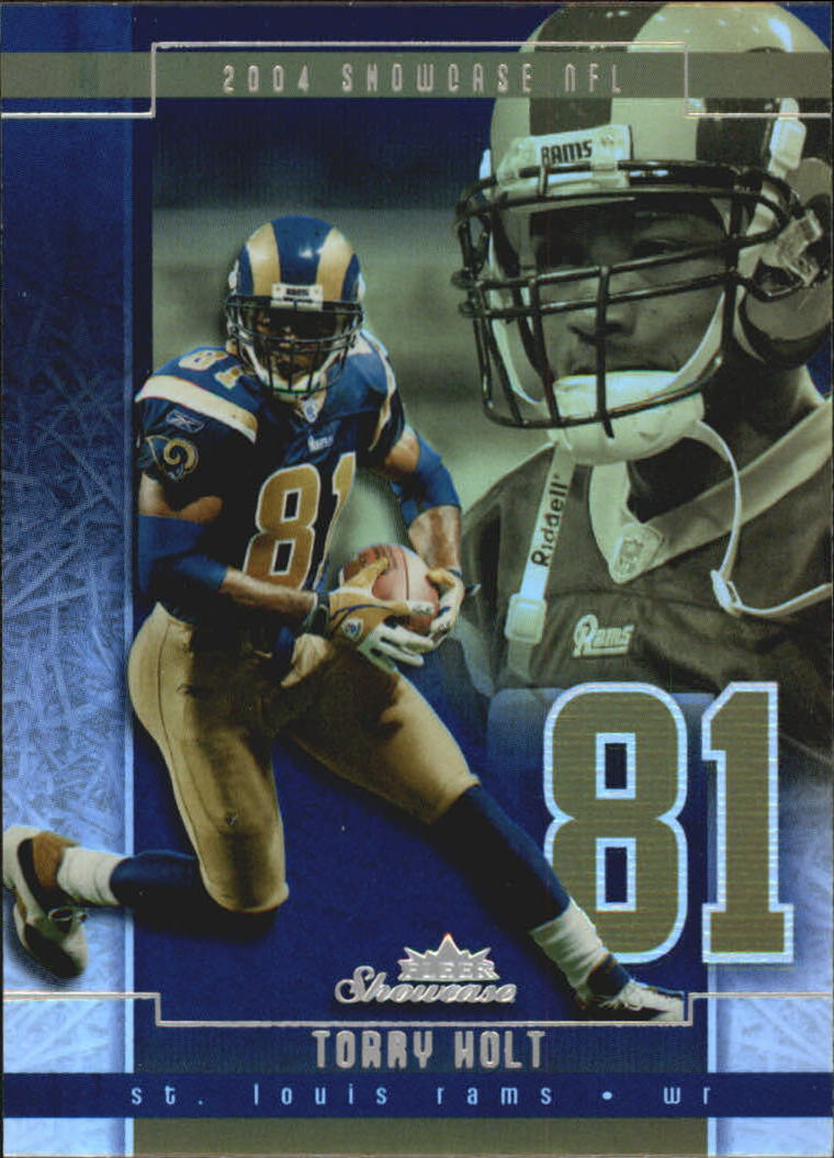 2004 Fleer Showcase #84 Torry Holt