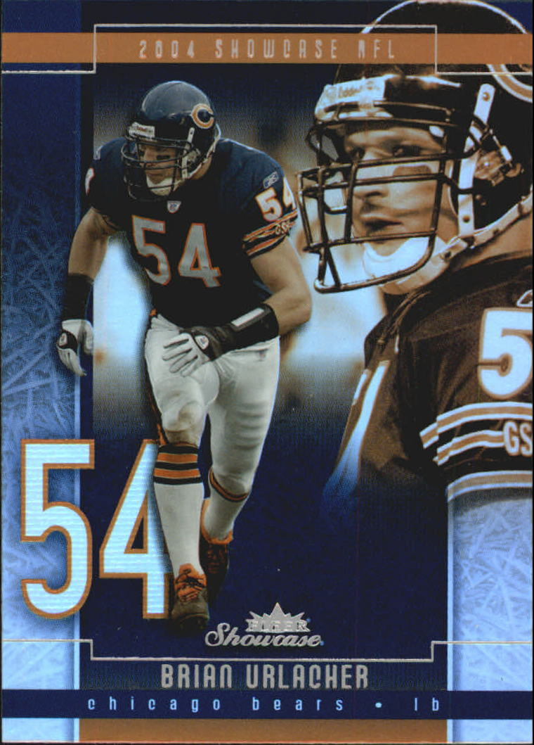 2004 Fleer Showcase #97 Brian Urlacher