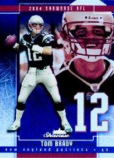 2004 Fleer Showcase #100 Tom Brady