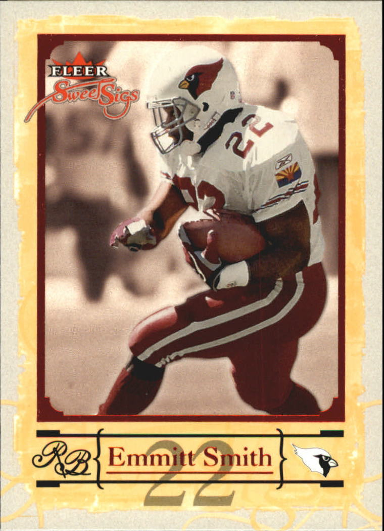 2004 Fleer Sweet Sigs #35 Emmitt Smith front image