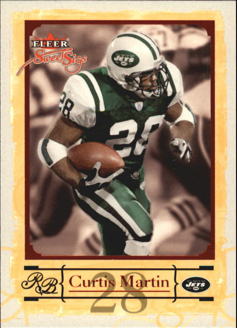 2004 Fleer Sweet Sigs #61 Curtis Martin