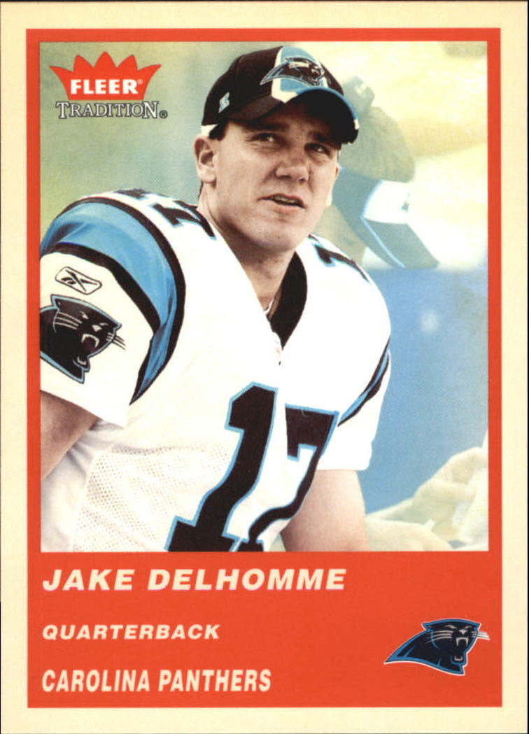 2004 Fleer Tradition #37 Jake Delhomme
