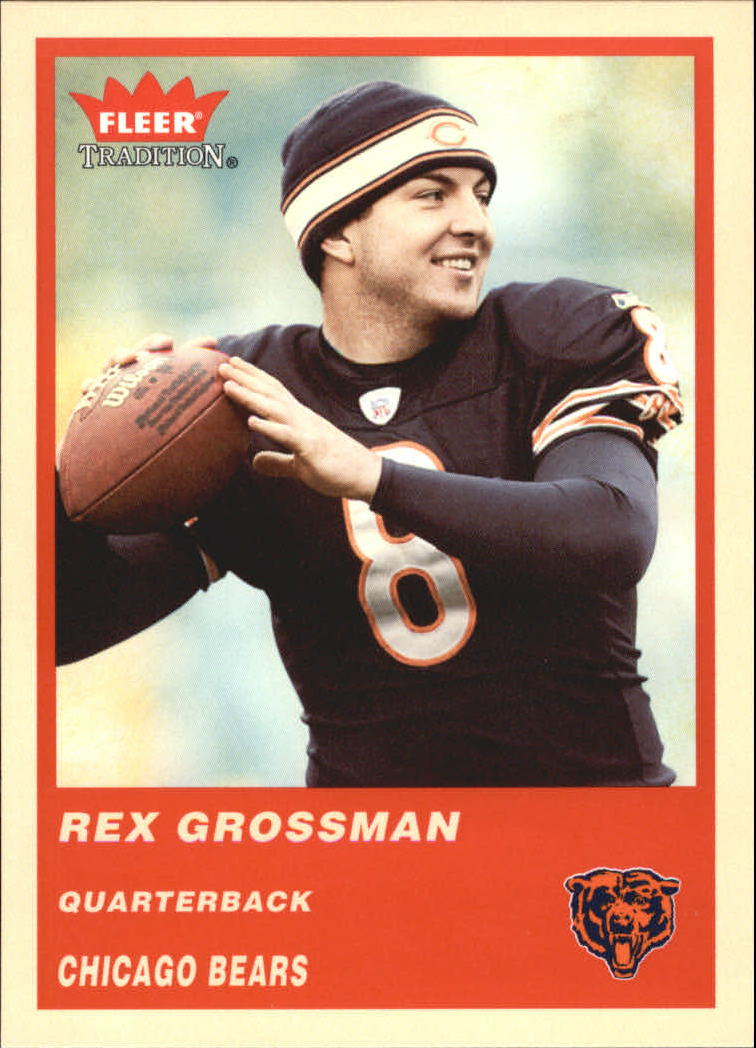 2004 Fleer Tradition #38 Rex Grossman