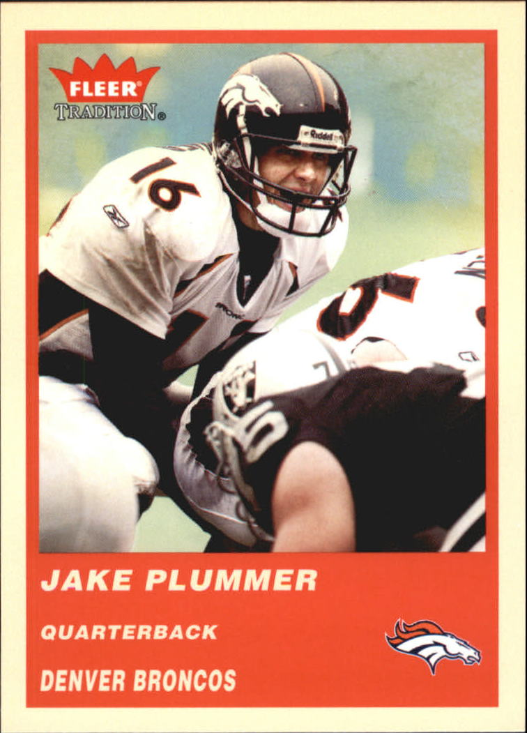 2004 Fleer Tradition #42 Jake Plummer