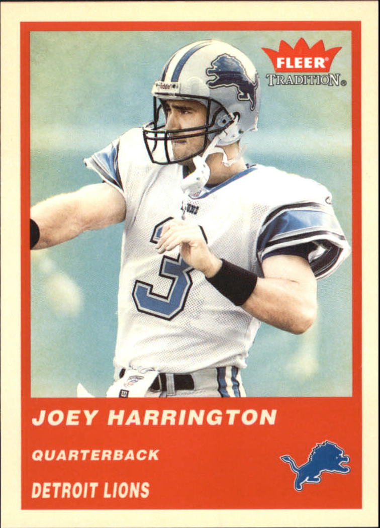 2004 Fleer Tradition #43 Joey Harrington