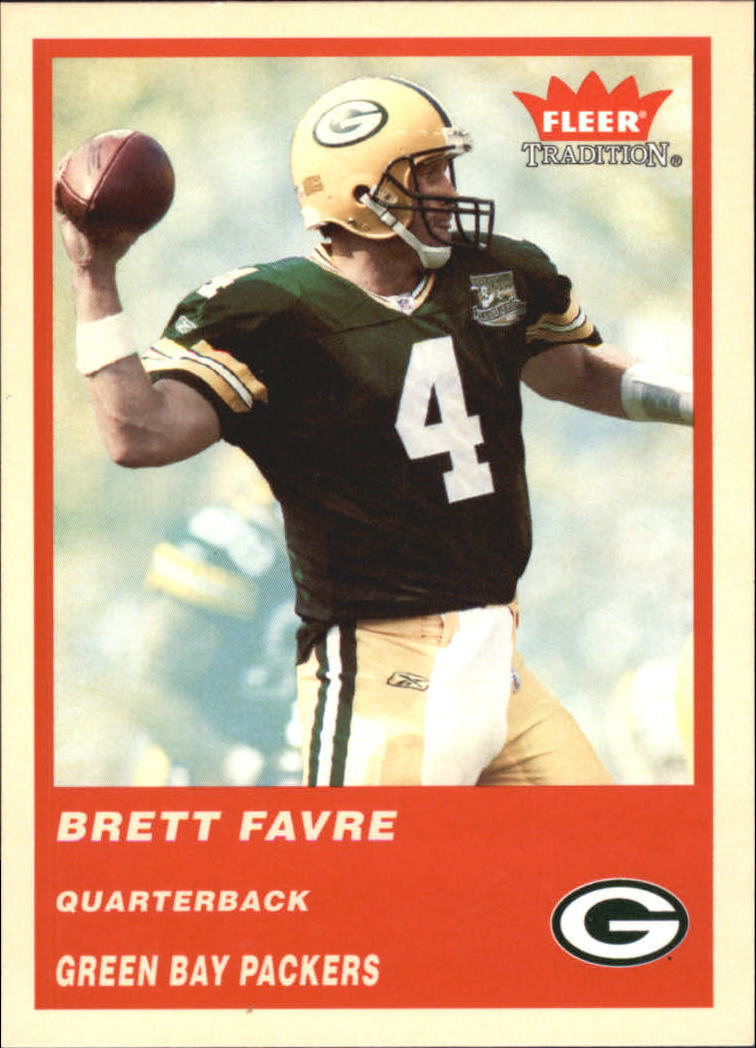 2004 Fleer Tradition #44 Brett Favre
