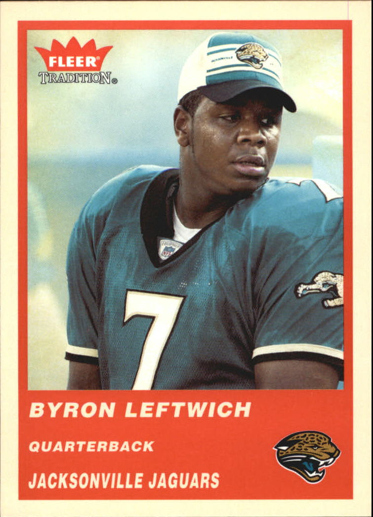 2004 Fleer Tradition #47 Byron Leftwich