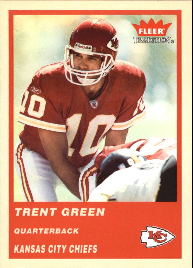 2004 Fleer Tradition #48 Trent Green
