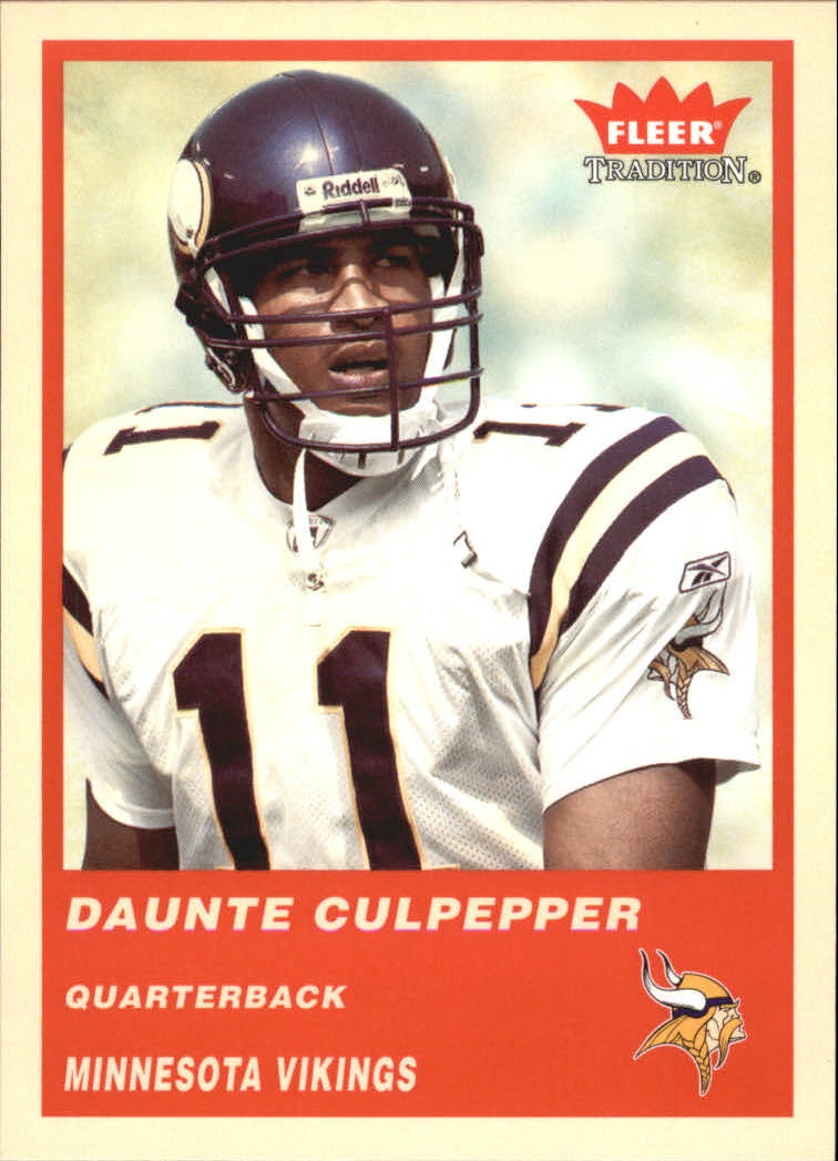 2004 Fleer Tradition #50 Daunte Culpepper