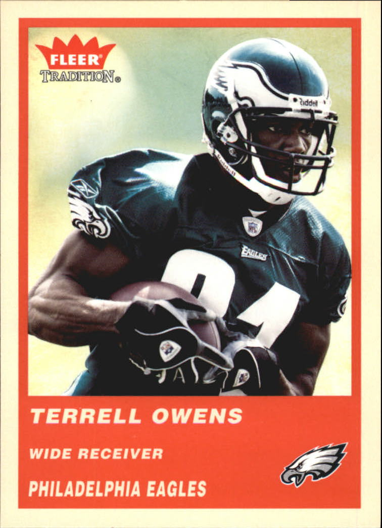 2004 Fleer Tradition #59 Terrell Owens