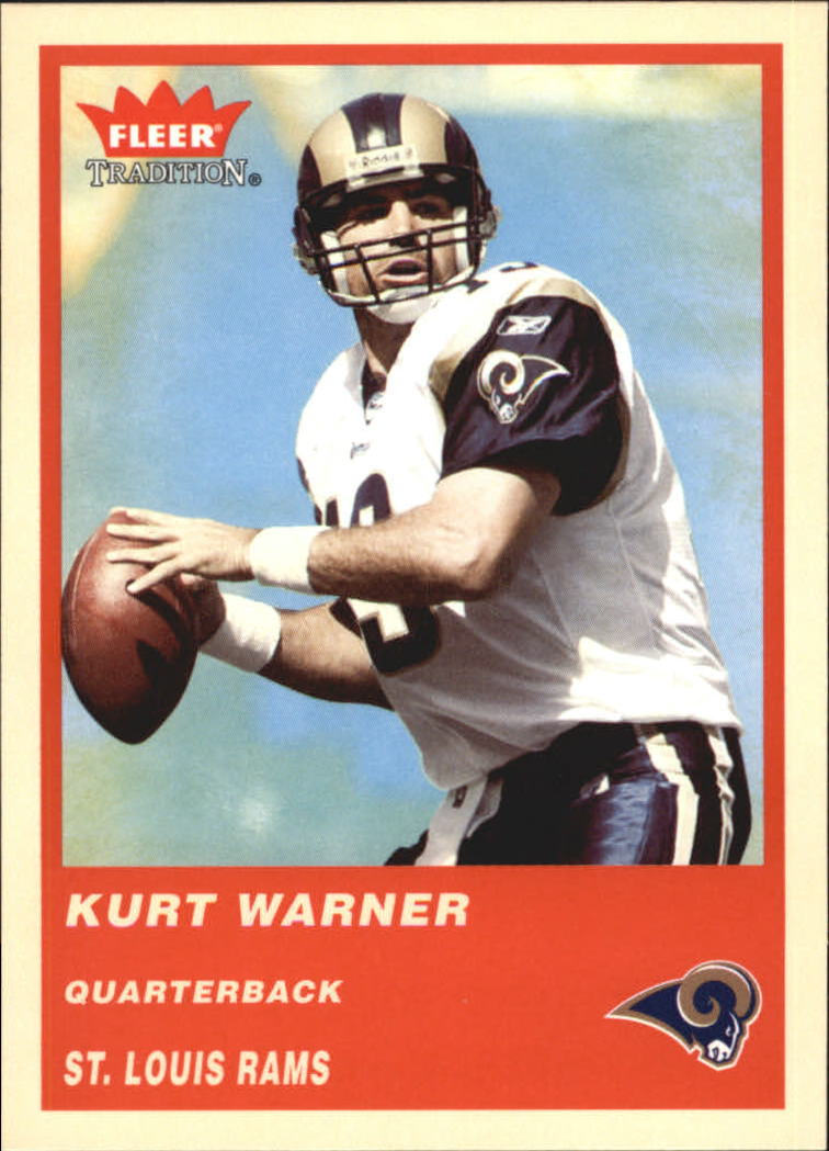 2004 Fleer Tradition #61 Kurt Warner
