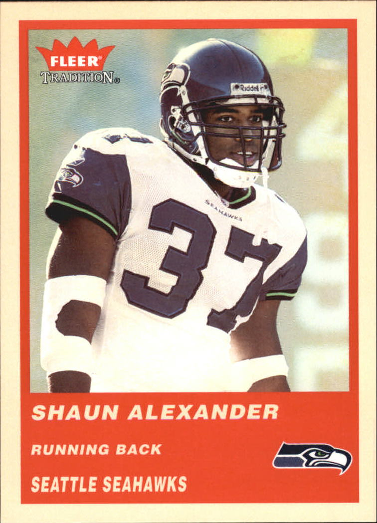 2004 Fleer Tradition #69 Shaun Alexander