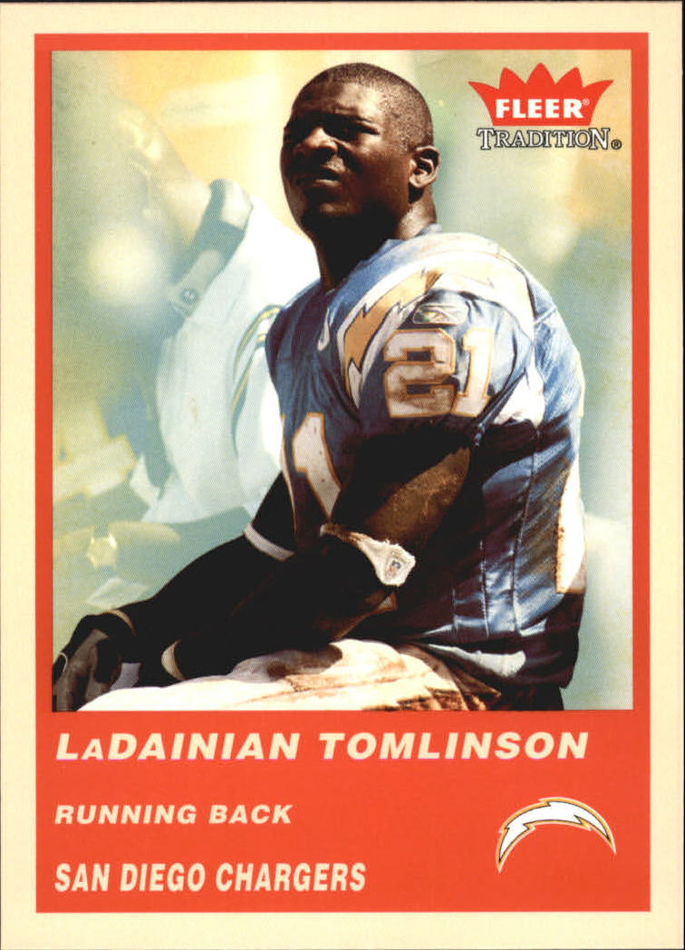 2004 Fleer Tradition #71 LaDainian Tomlinson
